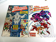 LOT 2 * THE WEST COAST AVENGERS* 1987.# 19. & .# 22  V/G+ TO F/F.