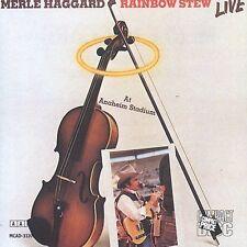 Rainbow Stew: Live at Anaheim Stadium by Merle Haggard (CD, Mar-2003,...