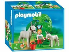 BNIB Playmobil 4187 Donkey with foal