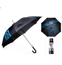 Versace Umbrella Medusa Head Blue/Black BRAND NEW!