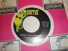 Frijid Pink 45 House Of The Rising Sun PARROT