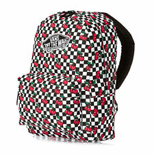 VANS REALM CHERRY CHECKERS BACKPACK 100% AUTHETIC MSRP $38-  NEW w/TAG!!