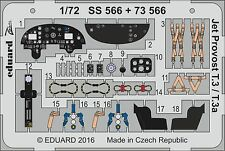EDUARD ZOOM SS566 Detail Set for Airfix® Kit Jet Provost T.3/T.3a in 1:72