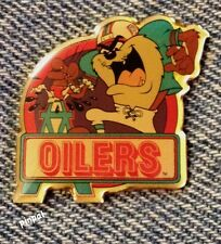 Houston Oilers and Tasmanian Devil Pin ~ TAZ ~ NFL ~ Looney Tunes