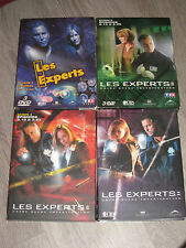LES EXPERTS SAISON 1-  2 - 3 - 4   - COFFRET  DVD