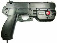 "AimTrak Light Gun Boxed ""BLACK"" With NEW RECOIL (Excl PSU) works on mame/ps2/ps3"