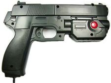 "AimTrak Light Gun Boxed ""BLACK"" With NEW RECOIL(Excl PSU) works on mame/ps2/ps3."