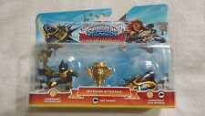 SKYLANDERS SUPERCHARGERS LEGENDAY SKY RACING PACK.ASTROBLAST+TROPHY+SUN RUNNER