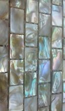 Gorgeous, natural biege, mother of pearl, real shell, mosaic tiles