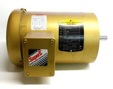 BALDOR VEM3542 INDUSTRIAL MOTOR 35J302P667G, 0.75 HP, 230/460V, 2.28/1.14 AMP