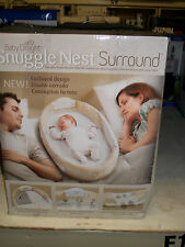 Baby Delight Snuggle Nest Surround Sleeper Naptime Bed Beige Doodle
