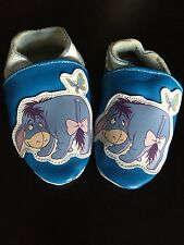Disney Winnie The Pooh EEYORE Softsole Shoe Baby Girl Toddler 6-12 Month