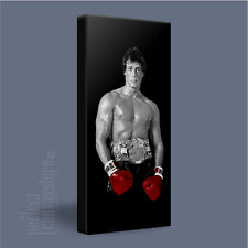 ROCKY BALBOA INSPIRING BOXING MOVIE ICONIC CANVAS ART PRINT PICTURE Art Williams