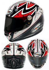 CASCHI CASCO HELMET INTEGRALE MOTO SUOMY VANDAL PATTERN RED MULTIFIBRE