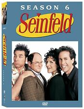 Brand New DVD Seinfeld: Season Six 6 (2005) Jerry Seinfeld Julia Louis-Dreyfus
