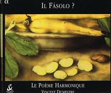 Il Fasolo? / Vincent Dumestre, Le Poeme Harmonique - CD