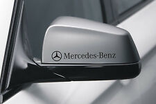 Mercedes Benz rear view mirrors stickers x2