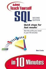 Sams Teach Yourself SQL in 10 Minutes (2nd Edition) by Forta, Ben
