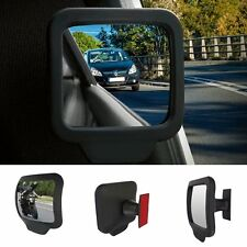 2pcs Auto Wide Angle Exterior Rear Mirrors Side RearView Car Blind Spot Mirror