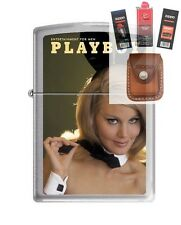 Zippo 4757 Playboy March 1967 Lighter + FUEL FLINT WICK POUCH GIFT SET