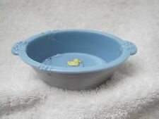 Fisher Price Loving Family Dollhouse BLUE BATH TUB for PUPPY DOG PET Cute!