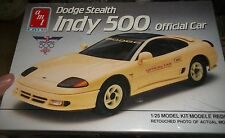 AMT DODGE STEALTH INDY PACE CAR 1/25 Model Car Mountain KIT FS