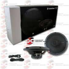 "BRAND NEW ROCKFORD FOSGATE 6.5-INCH 6-1/2"" 3-WAY CAR AUDIO COAXIAL SPEAKERS PAIR"