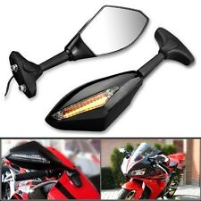 Motorcycle Rear View Side Mirrors + LED Indicator 4 Honda CBR 900 929 954 600rr