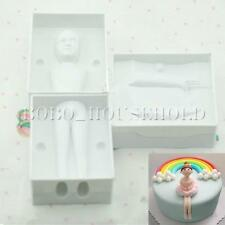 3D Woman Girl Baby People Body Cake Decorating Mould Fondant Gum Sugarcraft Mold