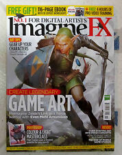 IMAGINE FX Sci Fi + Free 4 Hrs Video Nov 2015 CREATE LEGENDARY GAME ART Zelda ++