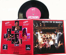 "WITCHUNTER - Alive In Europe  7""EP    Baphomet's Blood,Desaster"