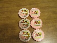 YANKEE CANDLE FRESH CUT ROSES TARTS LOT OF 6