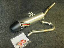 Honda CRF450 2014-2016 New DRD stainless/alloy single sided full exhaust CR3415