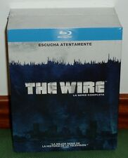 THE WIRE-COLECCIÓN COMPLETA-1-5 TEMPORADA-20 BLU-RAY-NUEVO-NEW-PRECINTADO-SEALED