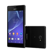 Sony Xperia M2 Aqua D2403 Black Android LTE WiFi 8GB Black without Simlock new