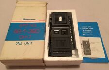 Westminster Model 390 Solid State CB 3CH Walkie-Talkie Hand-held Radio 1975 NOS