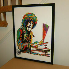 Mitch Mitchell, The Jimi Hendrix Experience, Drums, Hard Rock 18x24 POSTER w/COA