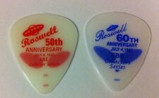 Vintage Alien Flying Saucer Roswell 50th & 60th Anniv Guitar Picks EBE 1997 2007