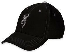 Browning 308149991 Men's Black/Gray Polyster Cap One Size
