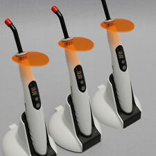 3 SETS Dental Cordless LED Curing Light Lamp 1400mw 5W Orthodontics T4 SKYSEA