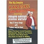 Sydney Devine - Karaoke (Big Country Karaoke Line Dance Party/+DVD, 2004)