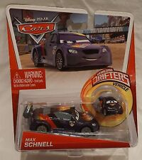 Disney Pixar Cars Max Schnell 2-Pack Micro Drifters NEW Mattel 2012