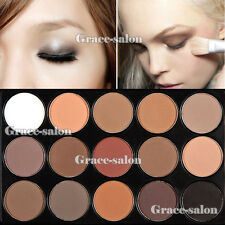 15 Colors Makeup Matte Eye Shadow Neutral Smoky Nude Warm Matt Eyeshadow Smokey