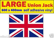 1 exter Large union jack decal stickers adhesive vinyl jdm Euro Drift vw car van
