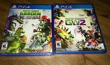 Plants vs. Zombies: Garden Warfare 2 plus part 1 (Sony PlayStation 4, 2016)