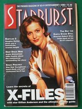 Starburst Magazine No 206 - X-Files - Gillian Anderson Front Cover