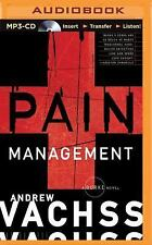Burke: Pain Management 13 by Andrew Vachss (2015, MP3 CD, Unabridged)