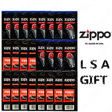 New Zippo Lighters Replacement 24 Value Pack (72 Flints and 12 Wicks)