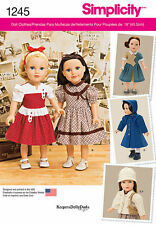"AMERICAN GIRL 18"" DOLL CLOTHES PATTERN 1940'S 50 HISTORICAL NEW MOLLY KIT RUTHIE"