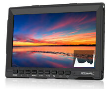 "Feelworld FW759P 7"" IPS DSLR Camera Field Monitor HDMI Peaking For BMPCC,GH4,A7S"